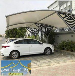 تركيب مظلات في أبو عريش جازان | حداد مظلات جيزان